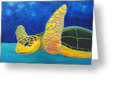 Obx Turtle Greeting Card