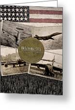 Oc-alc Vintage Greeting Card
