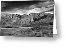 Oc Foothills 4171 Greeting Card