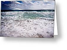 Ocean Abstract Greeting Card