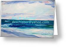 Ocean Assateague Virginia Greeting Card