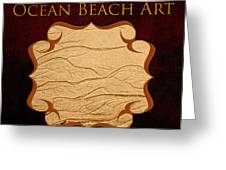 Ocean Beach Art Gallery Greeting Card