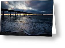 Ocean Beach Pier 4 Greeting Card