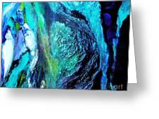 Ocean Blues Greeting Card