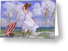Ocean Breeze Blues Greeting Card
