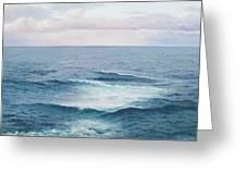 Ocean By Jan Matson Greeting Card