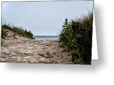 Ocean City Beach Greeting Card