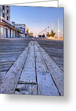 Ocean City Greeting Card by JC Findley
