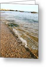 Ocean Curl Greeting Card