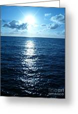 Ocean Fall Greeting Card