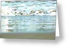 Ocean Foam Greeting Card