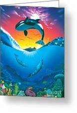 Ocean Freedom Greeting Card