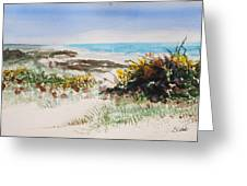 Ocean Front Greeting Card