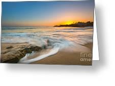 Ocean Glow Greeting Card