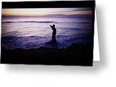 Ocean Mermaid Greeting Card