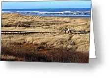 Ocean Shores Boardwalk Greeting Card