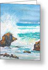 Ocean Storm Sea Squall    Greeting Card