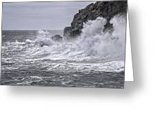 Ocean Surge At Gulliver's Greeting Card