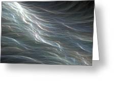 Ocean Swell Fractal Greeting Card