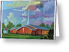 Ocean View Baptist Church Greeting Card