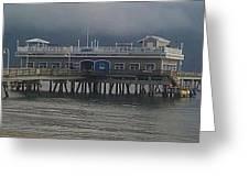 Ocean View Pier Greeting Card