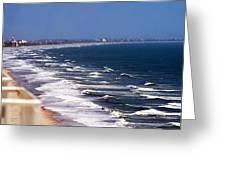 Oceanfront Landscape Greeting Card