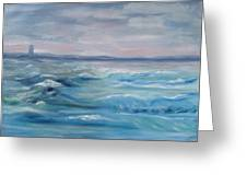 Oceans Of Color Greeting Card