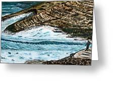 Ocean's View. Greeting Card