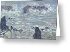 Oceans Waves Greeting Card