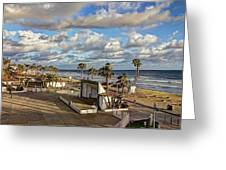 Oceanside Amphitheater Greeting Card