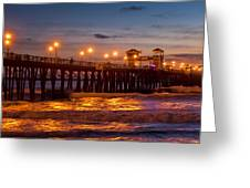 Oceanside Evening Greeting Card