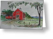 Oceanside Farm Greeting Card