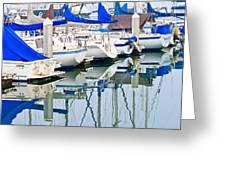 Oceanside Harbor 2 Greeting Card