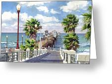 Oceanside Pier Greeting Card