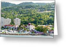 Ocho Rios Panorama Greeting Card