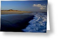 Ocracoke Surf Greeting Card