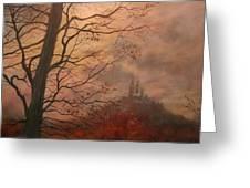 October At Holy Hill Greeting Card