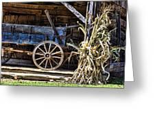 October Barn Greeting Card