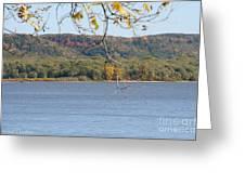October Bluffs Greeting Card