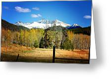 October Day  Greeting Card