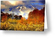 October In Grand Tetons Greeting Card