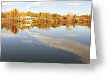 October Reflections Greeting Card