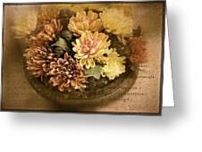 October Still Life Greeting Card