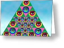 Oculi Omnium Greeting Card