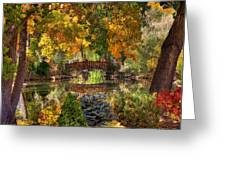 Ode To Autumn Greeting Card