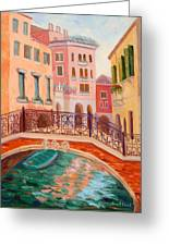 Ode To Venice Greeting Card