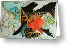 Odin's Dream Greeting Card