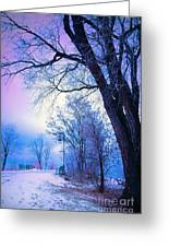 Of Dreams And Winter Greeting Card