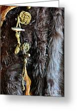 Of Fur And Rope Greeting Card
