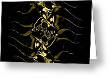 Of Golden Waves Greeting Card